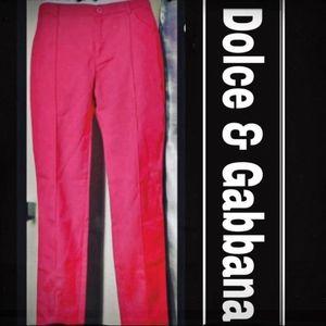 Dolce & Gabbana slacks cut of at ankles Mint Condi